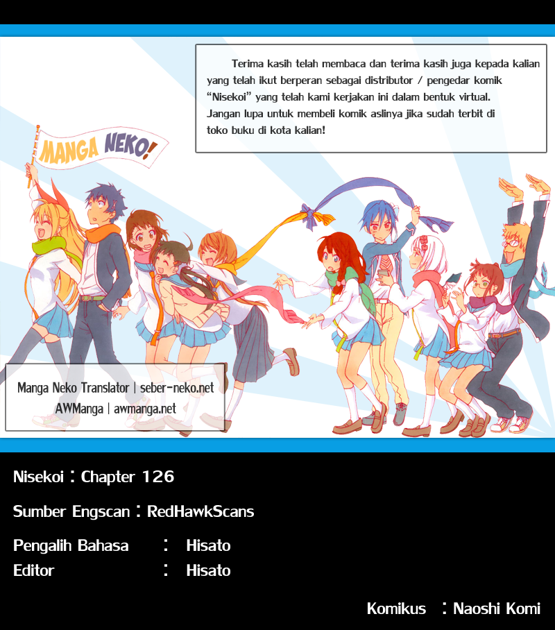Komik nisekoi 126 - pernyataan 127 Indonesia nisekoi 126 - pernyataan Terbaru 19|Baca Manga Komik Indonesia|