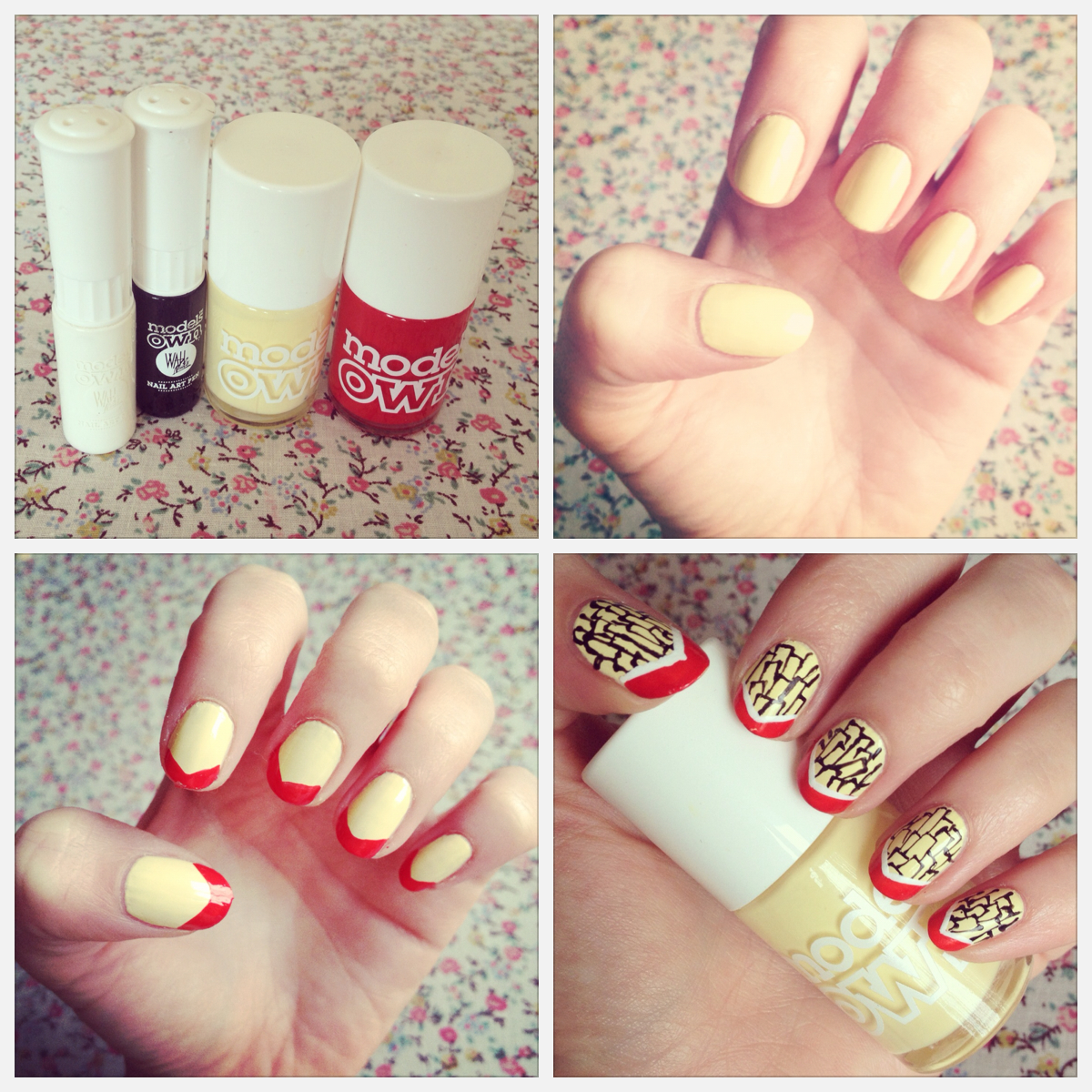 friday fun; french fry nails: | BURKATRON