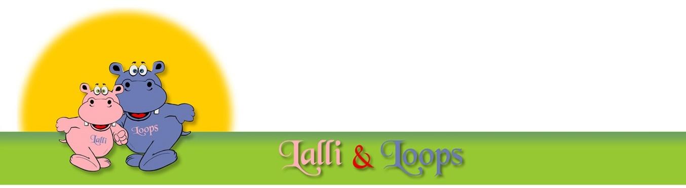 Niedliche Artikel der Marken Lalli und Loops, cute Bella und Fluffy.
