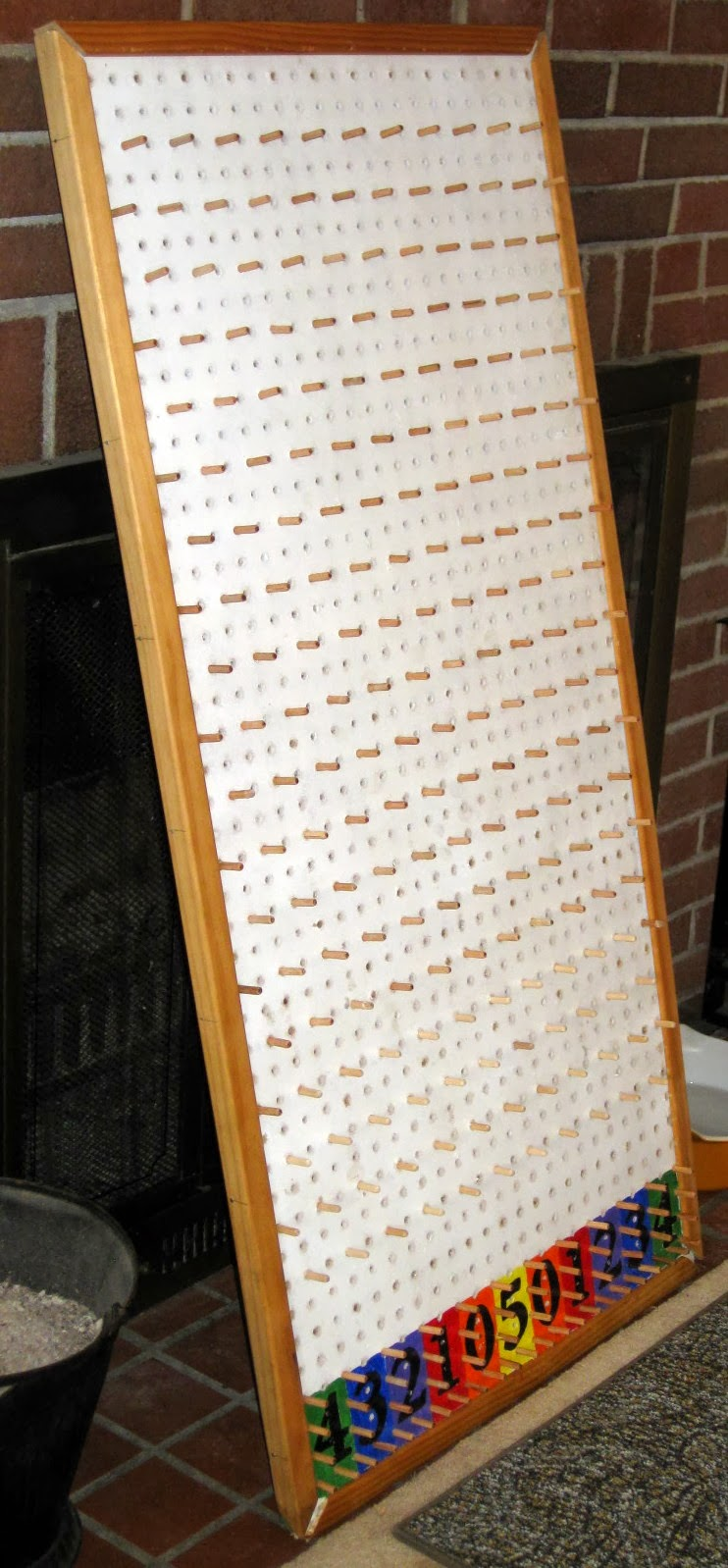 How I made my Plinko Board: Homemade Plinko Board for Carnival