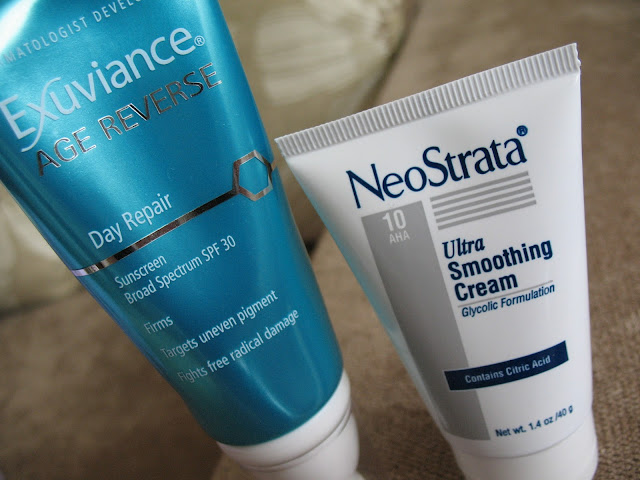Exuviance Age Reverse Day Repair , NeoStrata Ultra Smoothing Cream 10 AHA