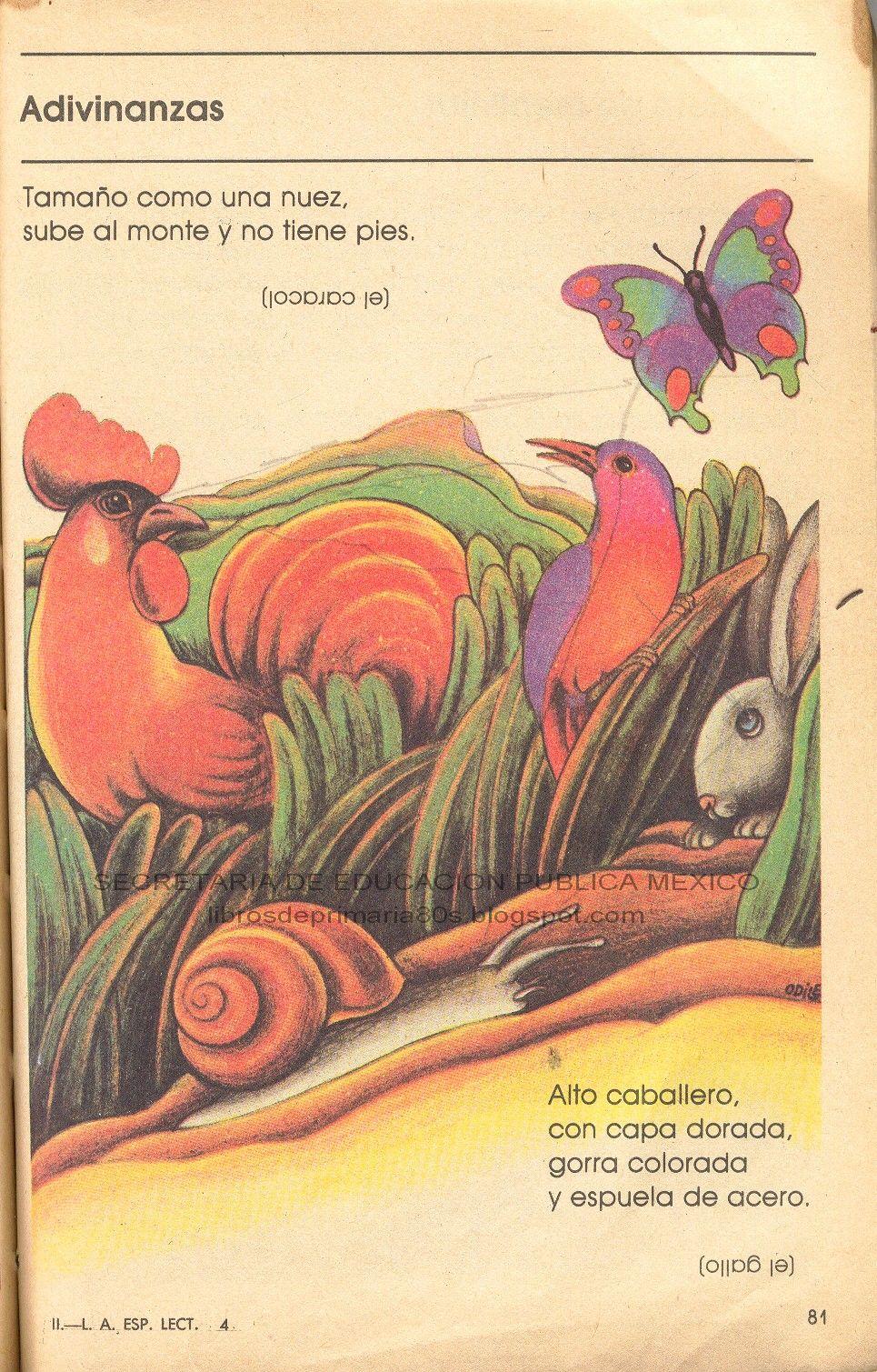 lecturas de los libros de: