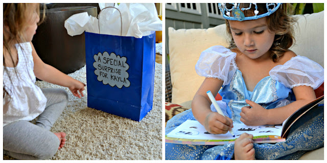 Cinderella costume surprise from Walmart #DisneyPrincessWMT