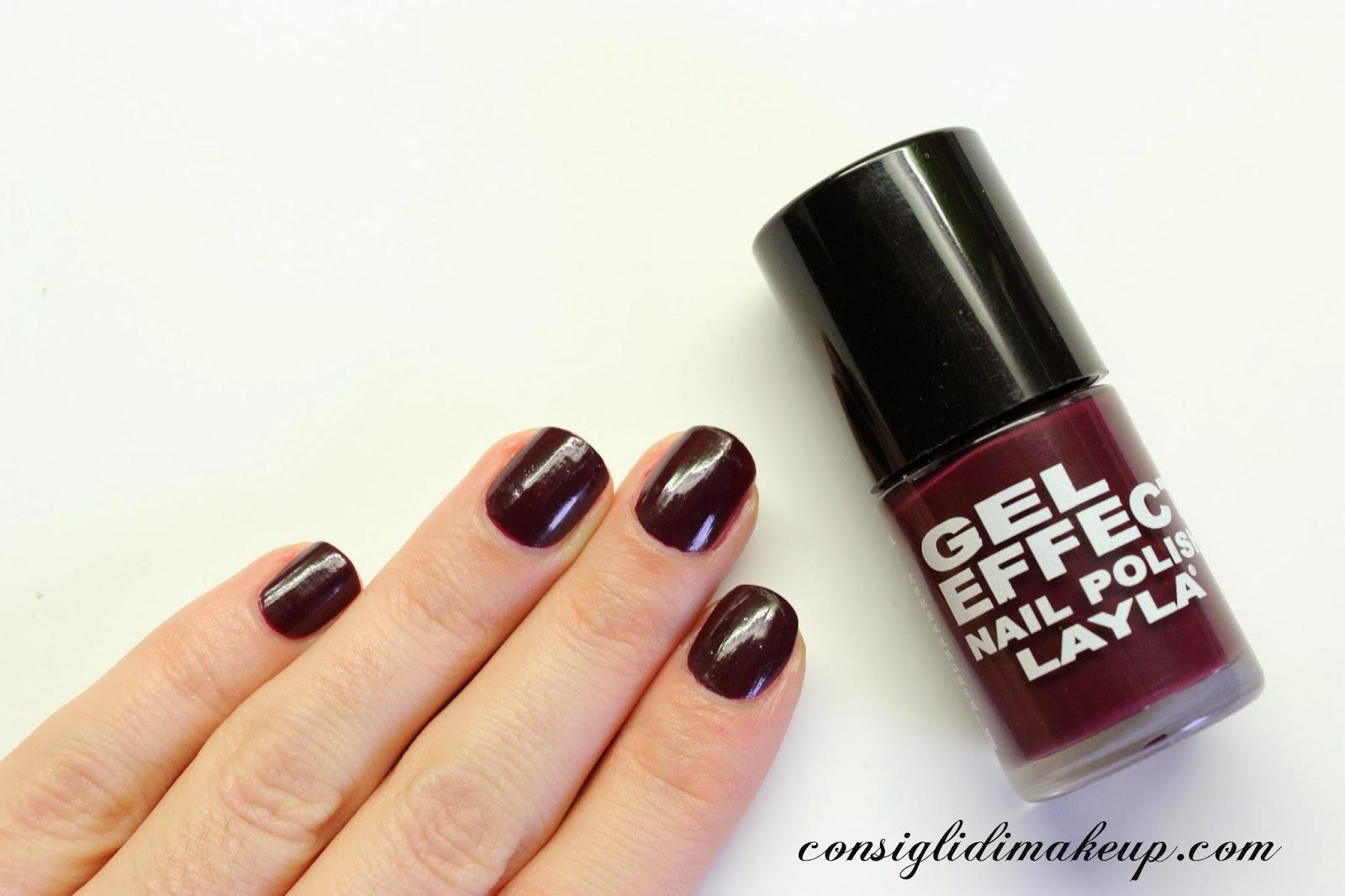 NOTD: Layla - Gel Effect Nail Polish 12 Smooth Purple