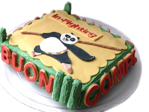 Cookies and co.: kung fu panda