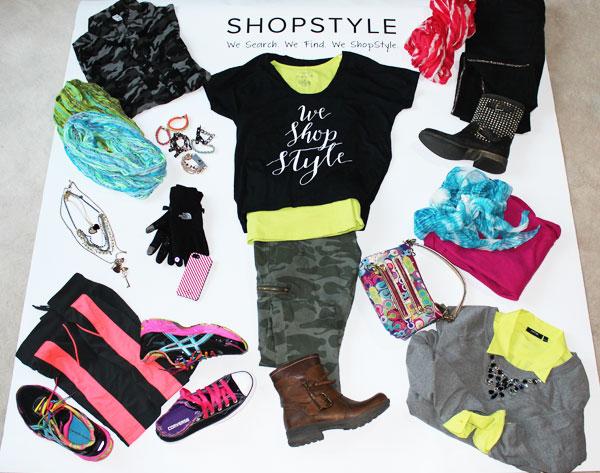 Shop Style, PopSugar, We Shop Style, fashion, Steve Madden, Coach, North Face, Old Navy, Kate Spade, Kohls, Converse, Asics, tennis shoes, camoflauge