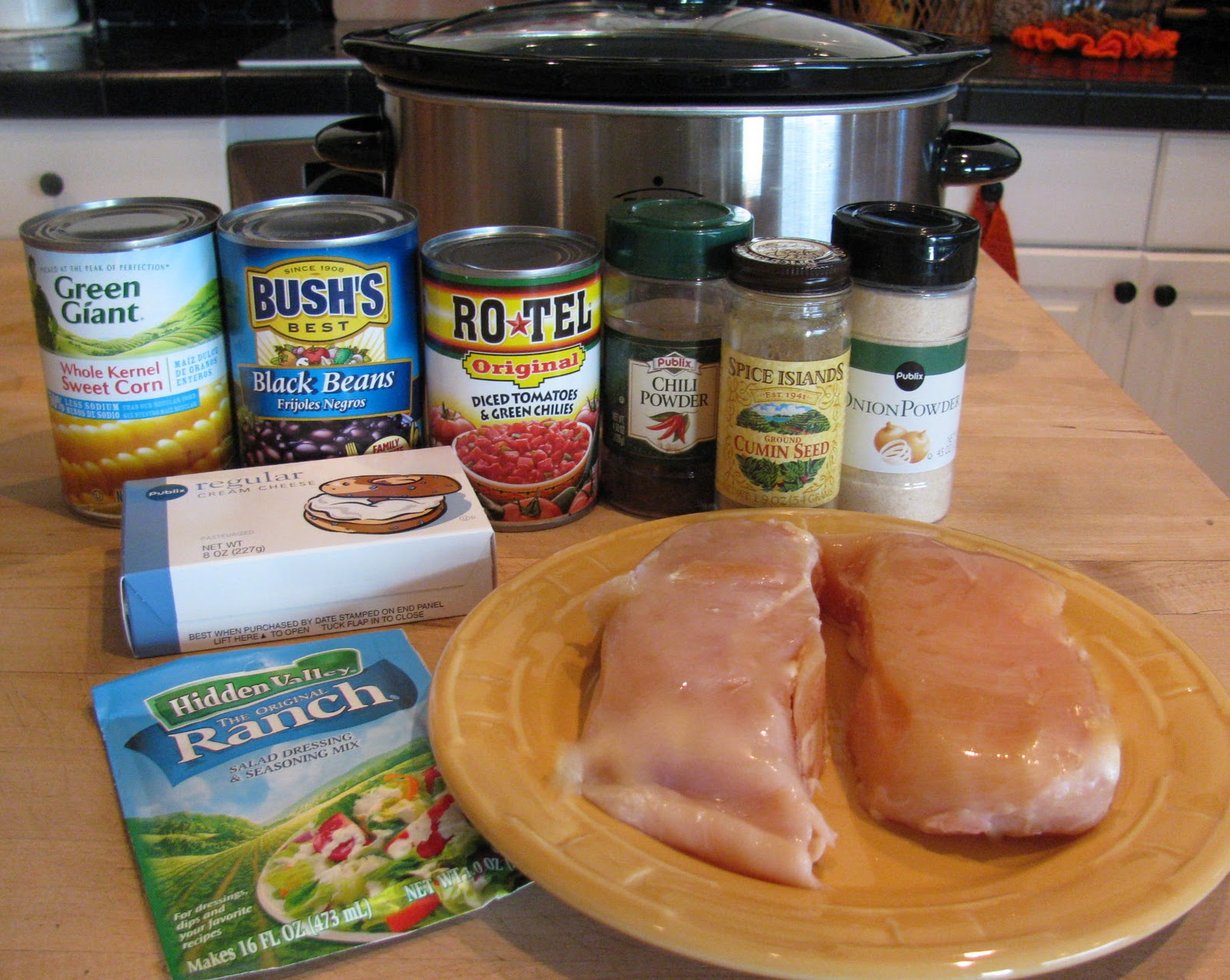 Easy chicken breast recipes in crock pot