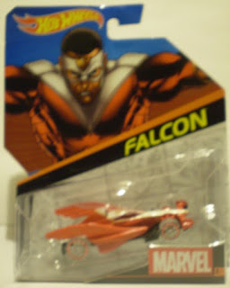 Front of 2014 Hot Wheels Falcon