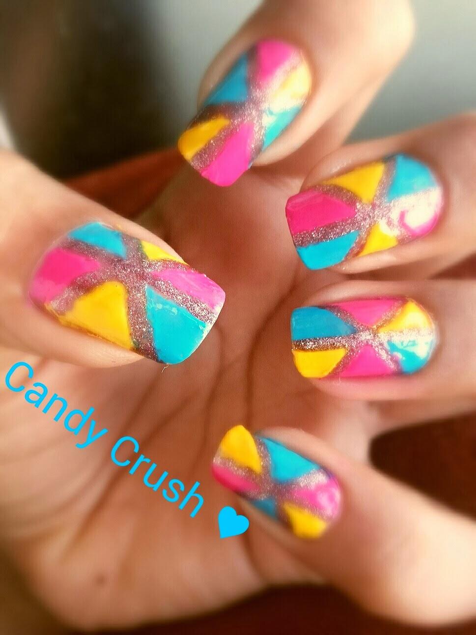 Teen Beauty Candy Crush Nail Art