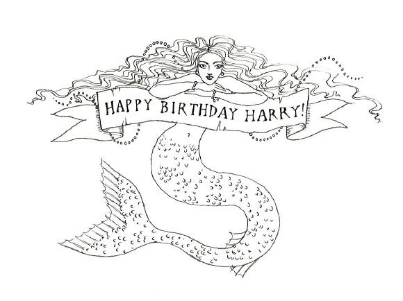 Beautiful Mermaid Pencil Drawings