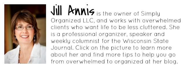 Jill Annis of Simply Organized :: OrganizingMadeFun.com