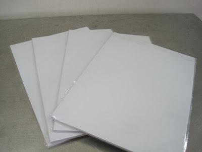 Giấy in màu, giấy in card sọc láng, giấy ảnh RC