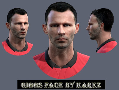 Ryan Giggs Face by KarkZ