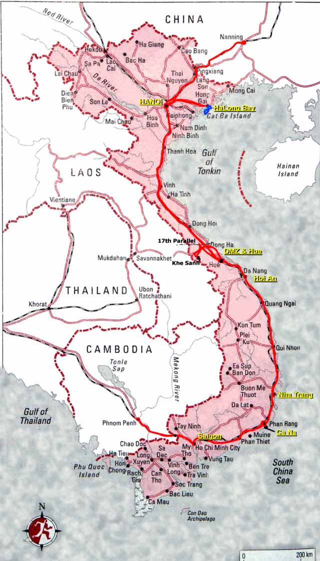 17th Parallel Vietnam Map.Writing To Learn And Share Dmz