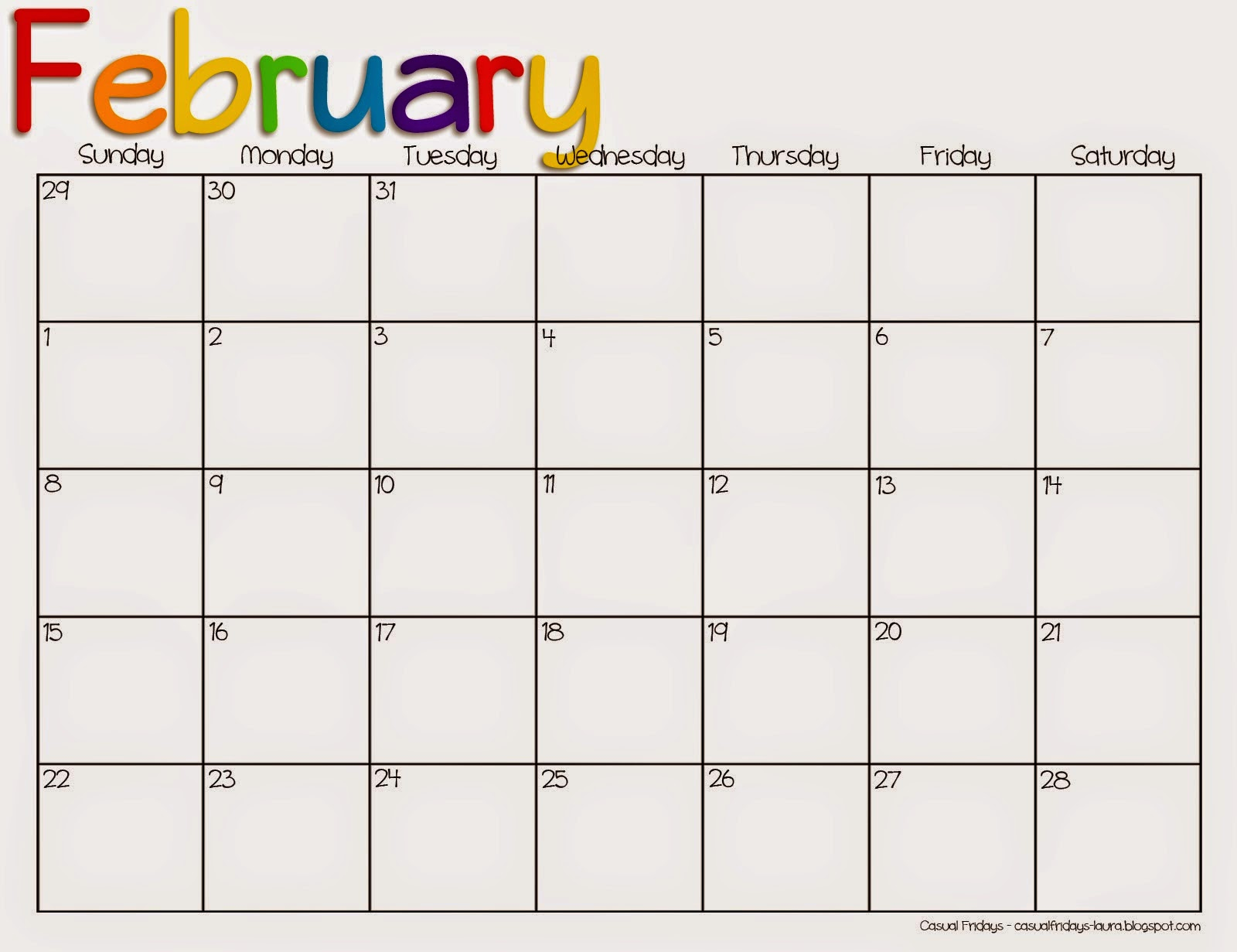 Weekly Printable Calendar/page/2 | Printable Calendar Template