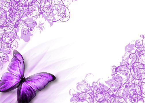 News Butterfly: Purple Butterfly Wallpaper