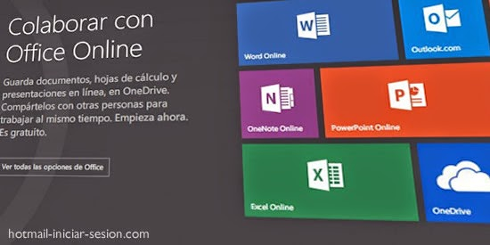 hotmail iniciar sesion - Office online