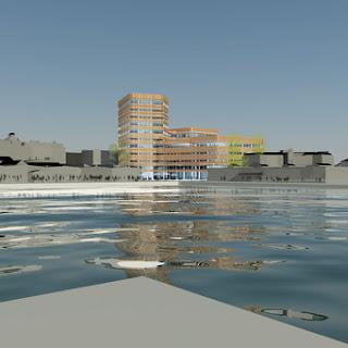 Niagara - Malmö Högskolas nya byggnad