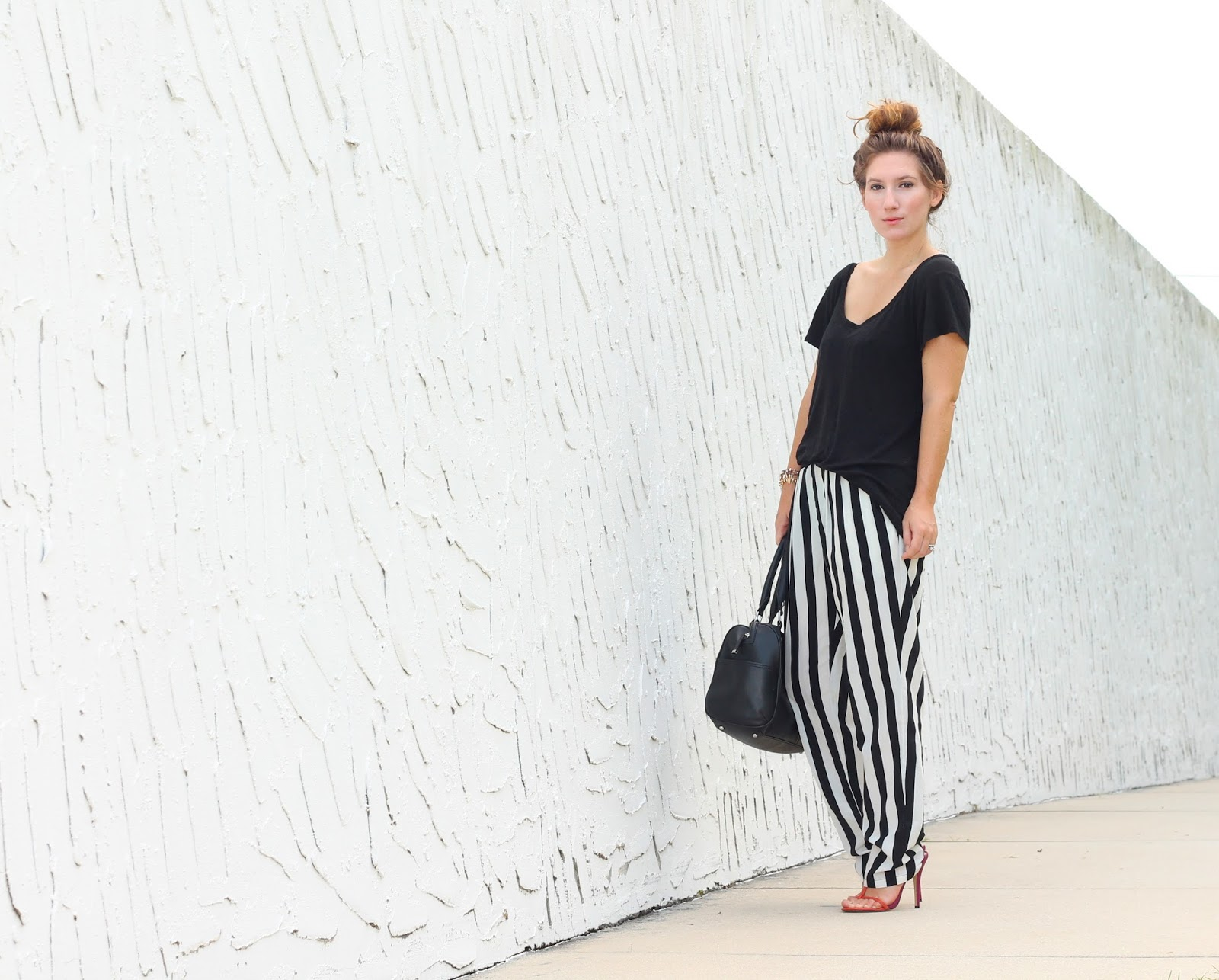 striped pants style