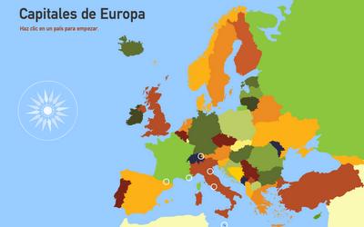 Capitales Europa puzzle
