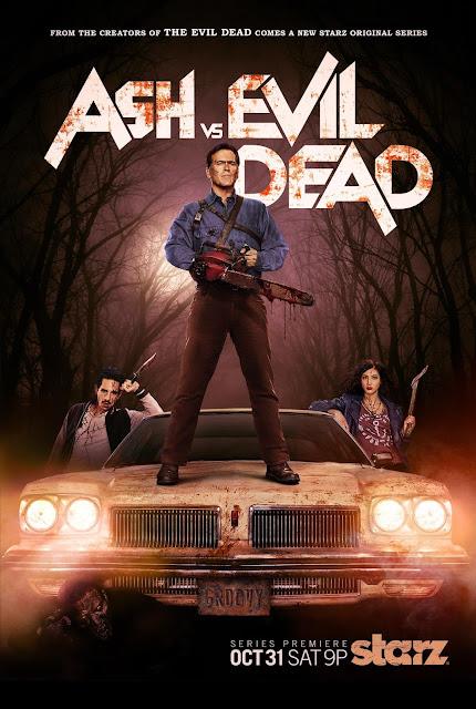 Ash vs Evil Dead ganha poster oficial com data de estreia