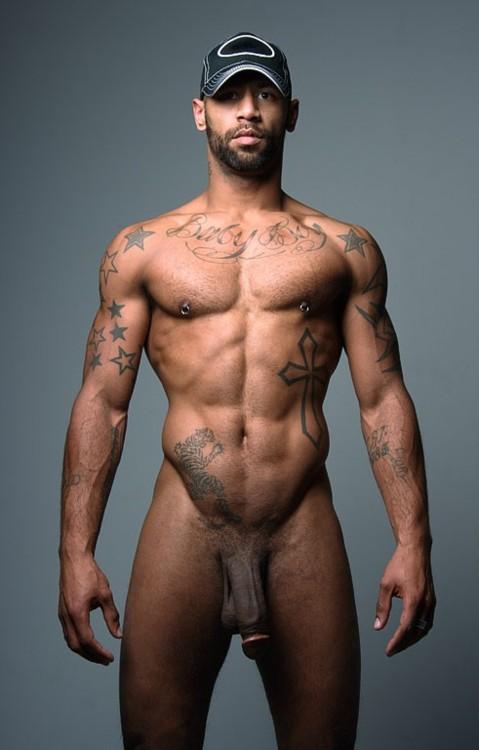 Naked Black Men Group