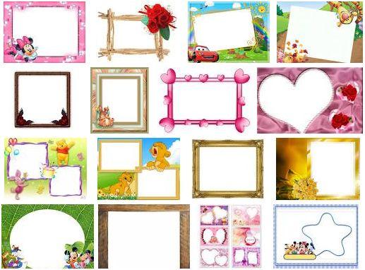 Fotos montaje - Pared marcos fotos ...