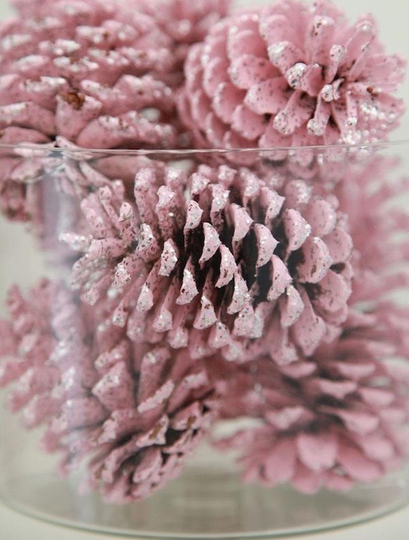 Inspiracion decoracion en navidad con pi as naturales mi mundo de color ya soy mam - Pinas decoradas para navidad ...