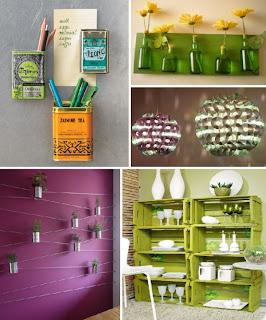 como decorar uma cozinha sem gastar muito reciclando