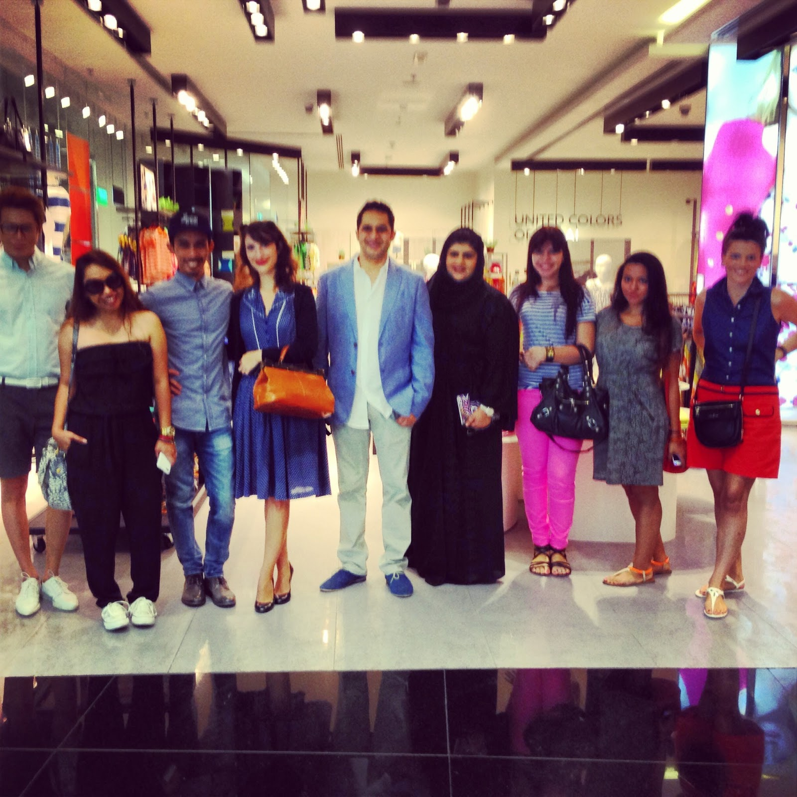 Meeting With Benetton Bloggers!