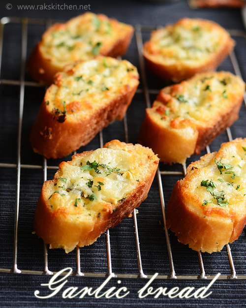 bread can be made garlic bread easily this way with chopped garlic ...