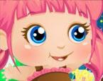 Küçük Kız Doğum Günü Pastası Oyunu