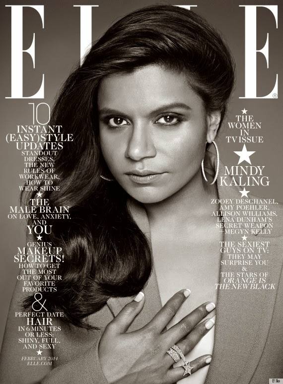 Magazine Love: Mindy Kaling is on the Cover of ELLE Magazine and I Think She Looks Absolutely GORGEOUS!