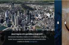 Google Earth 7 incluye guía turística e imágenes de ciudades en 3d
