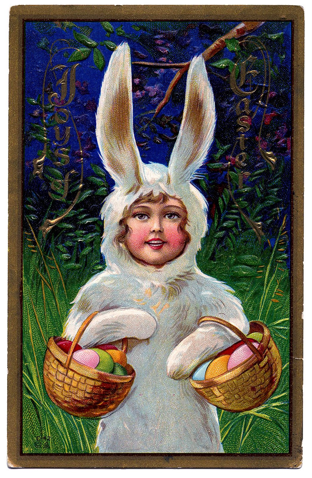 vintage easter bunny - photo #20