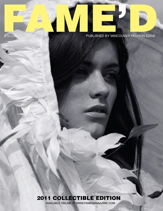 Fame'd Magazine, Vancouver, Cover