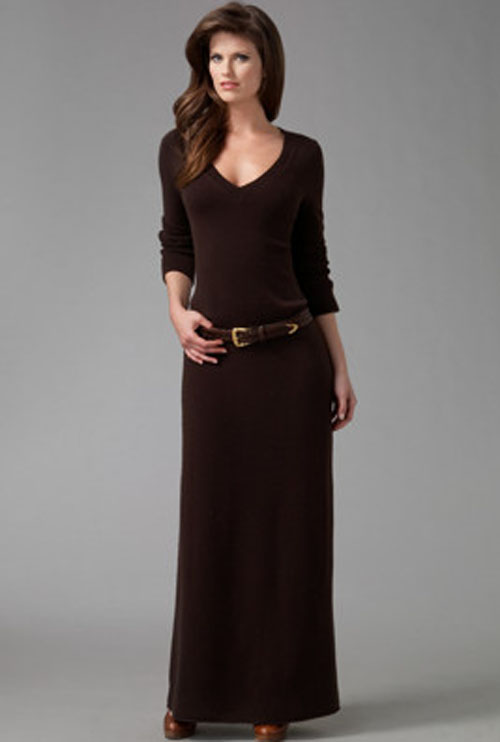 Winter maxi dresses - 5 Ways to Wear Maxi Dresses This Winter ...