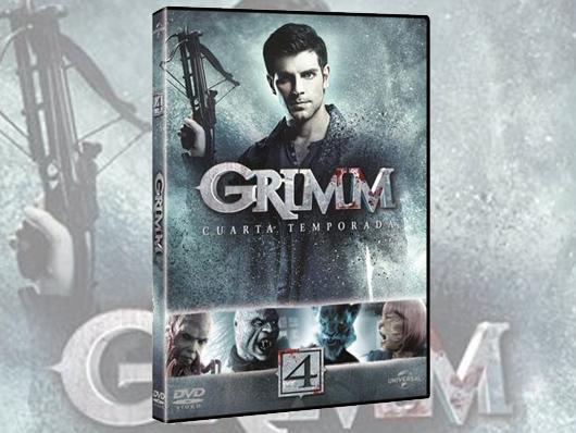 A la venta la cuarta temporada de 'Grimm' en DVD y pack con las cuatro temporadas