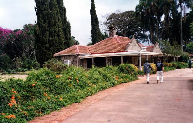 La casa de Karen Blixen en Nairobi
