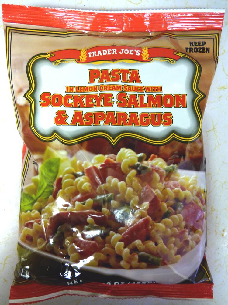 Whats Good At Trader Joes Trader Joes Pasta With Sockeye Salmon