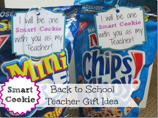 One Smart Cookie Teacher Gift by Crunchy Frugalista.