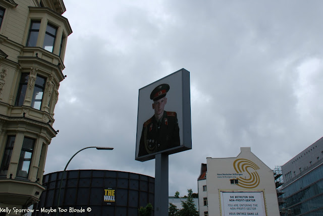 Checkpoint Charlie, East Berlin, Berlin Germany, Soviet Soldier