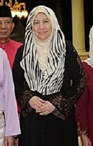 Tunku Ampuan Besar Negeri Sembilan.