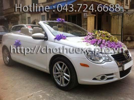 Cho thuê xe cưới Volkwagen Eos - xe cưới mui trần đẳng cấp 1