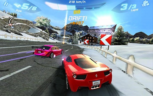 the best racing games for android 2012