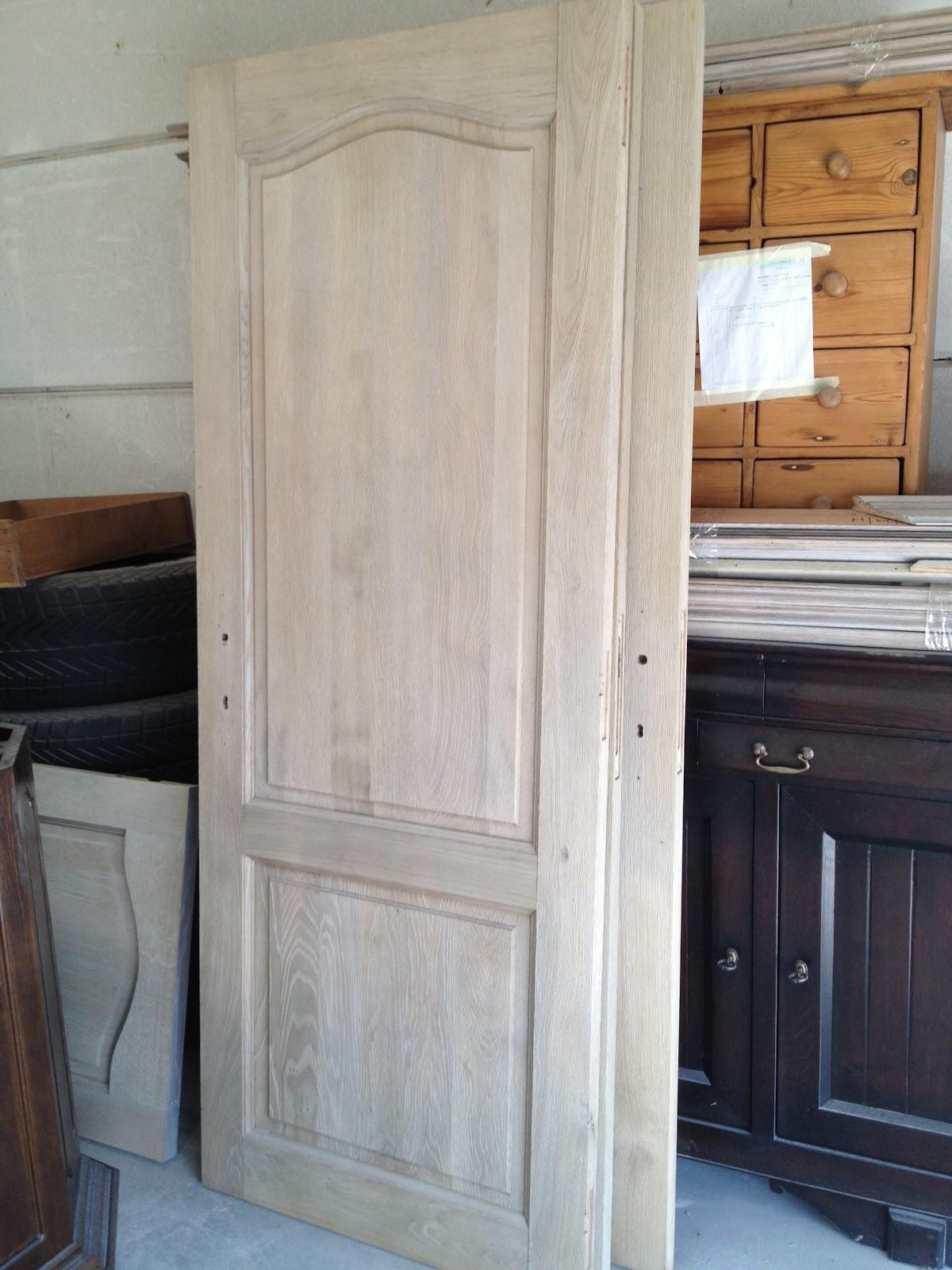 Renovatie van eiken deuren