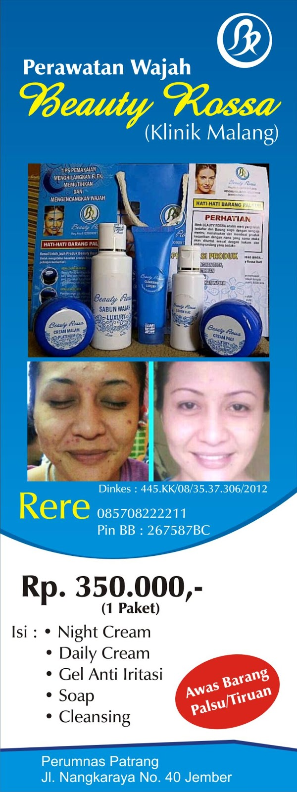 Paket #1 Beauty Rossa Skin Care