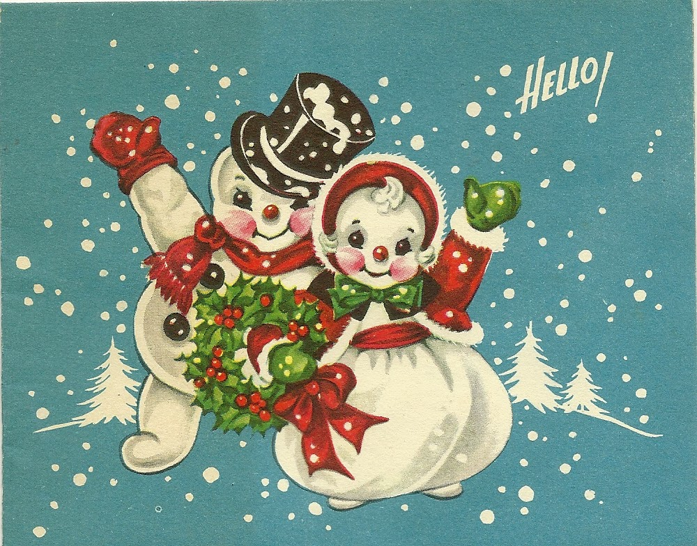 Images about old fashioned christmas cards