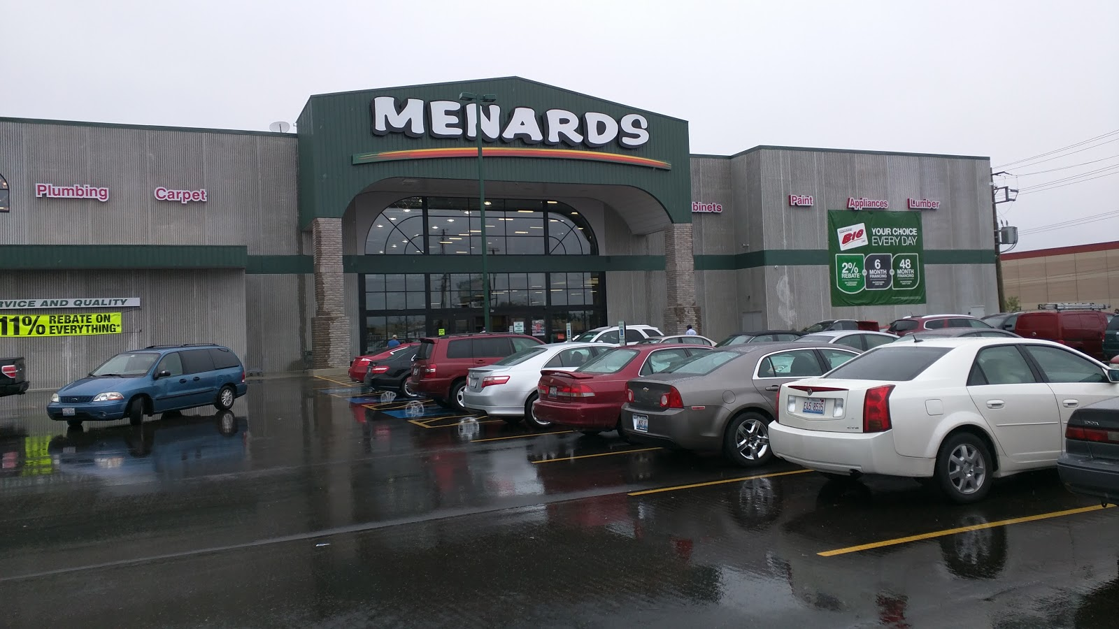 a visit to the new melrose park menards - Menards Halloween Decorations