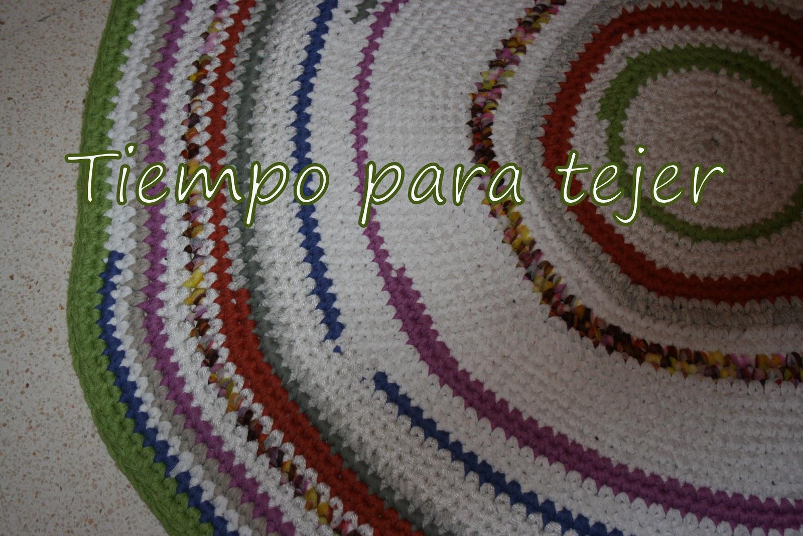 Tiempo Para Tejer Alfombra Y Cuello De Crochet